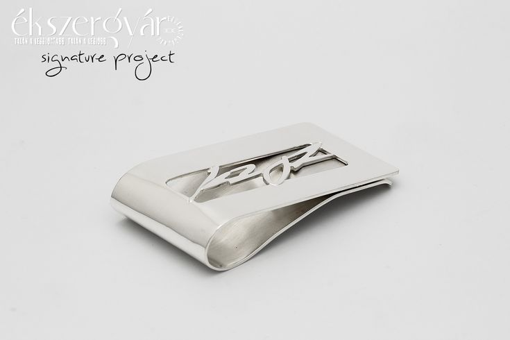 Signature Project - sterling silver money clip