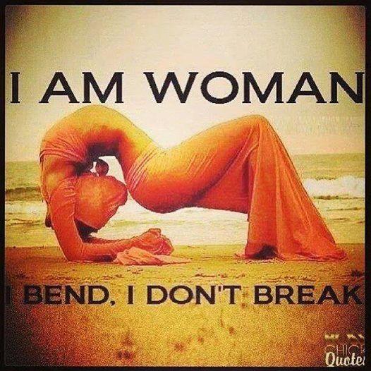 I dont break i bend porn