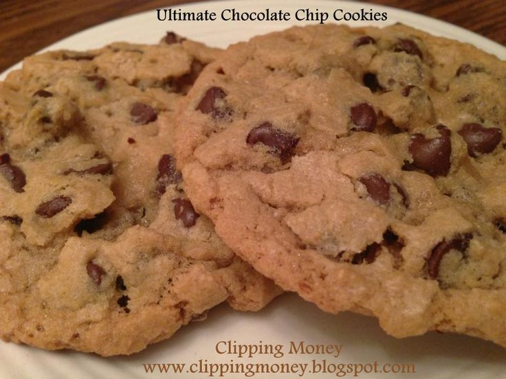 Ultimate Chocolate Chip Cookies | Sweet Tooth | Pinterest