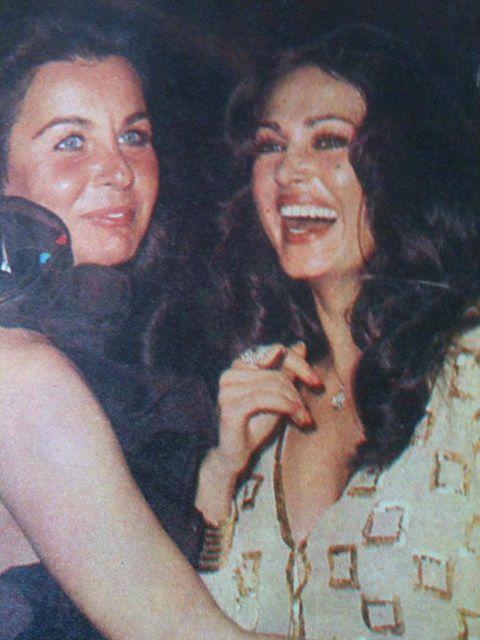 Turkish celebrities ☪ Türkan Şoray, Fatma Girik