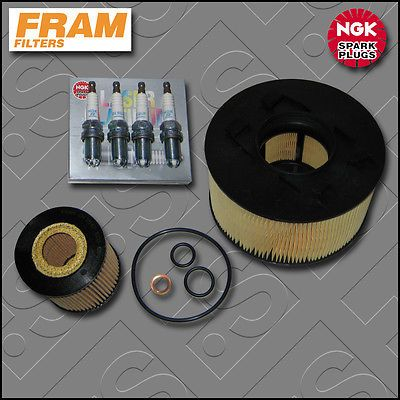 #Service kit bmw 3 series e46 318i n42 fram oil air #filters plugs #(2001-2005),  View more on the LINK: http://www.zeppy.io/product/gb/2/230918212886/
