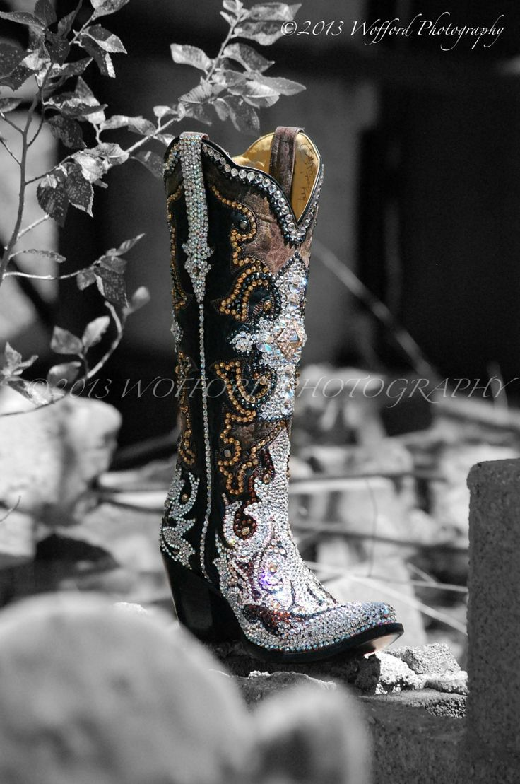 The artistry of Jacqi Bling Boot!