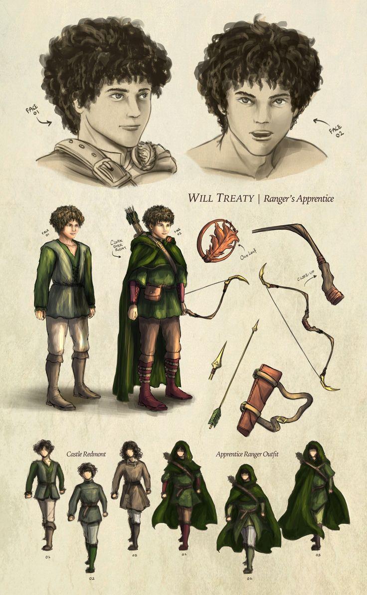 Will Treaty Based On Ranger's Apprentice, The Ruins Of Gorlan By John  Flanagan