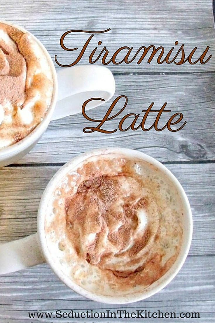 Tiramisu Latte is a creamy and sweet that is the best way to describe this morning latte. It is tiramisu meets a latte, a recipe  via @SeductionRecipe