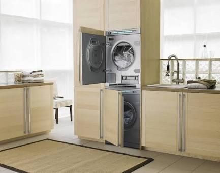 laundry machines stacked - Google Search