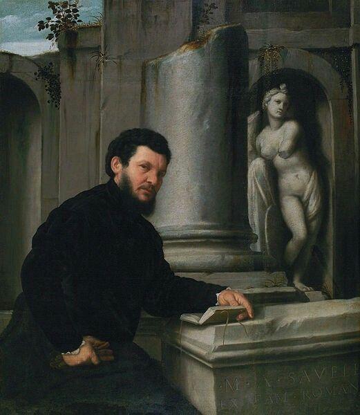 Ritratto di Marco Antonio Savelli. 1543-47. Museu Calouste Gulbenkian. Lisbona