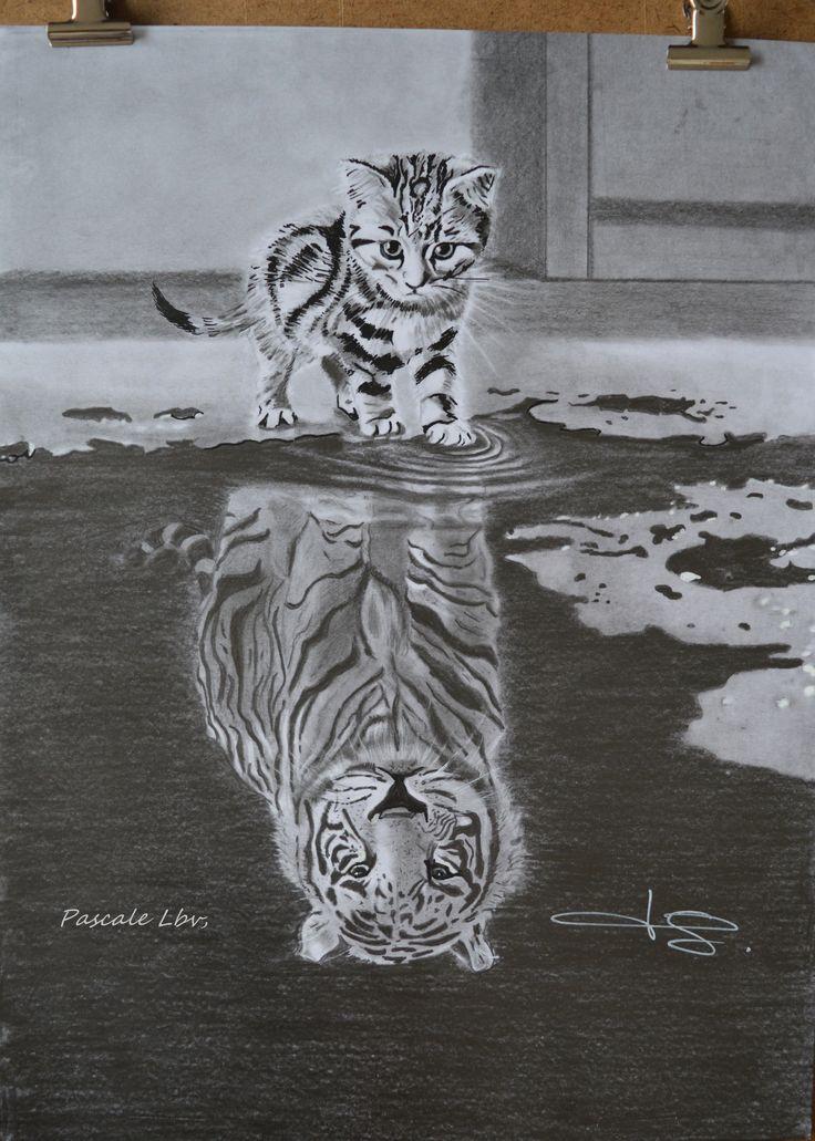 167 – Kleine Katzen werden groß! – Zeichnungen nach meinen Wünschen, Pascale Lbv,