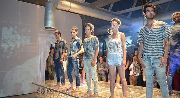 Americanino y su jeans Factory. Fotos y texto por mí.