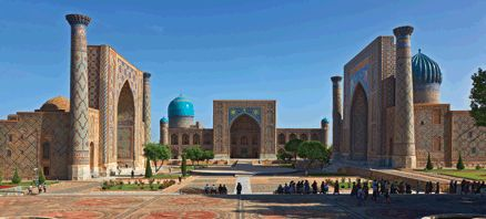Uzbekistan conjures up images of a time of oriental mystery, a time when the now ancient cities of Uzbekistan were located on the ancient Silk Road, the trading route between