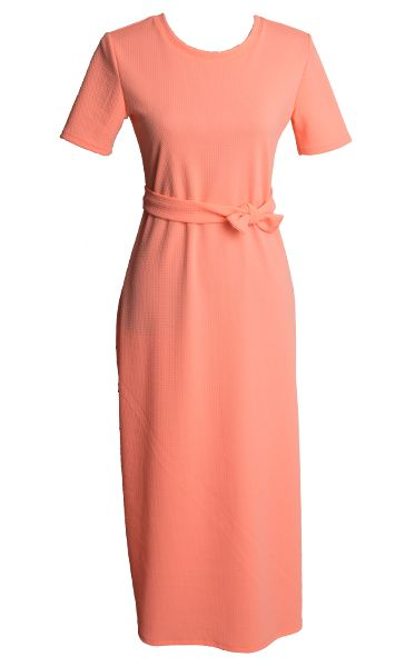 Wearadress.com Clematis apricot dress. also in Azure Blue
