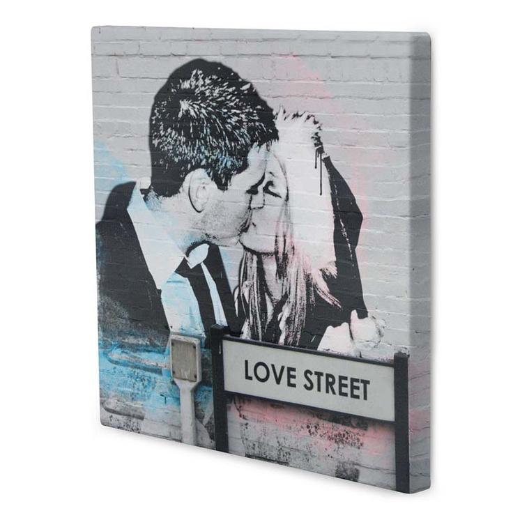 Banksy Canvas Love. £38