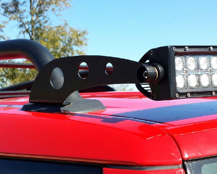 "SALE!!!!!   50"" LED Light Bar Mount - With or Without Roof Rack       PureFJCruiser.com"