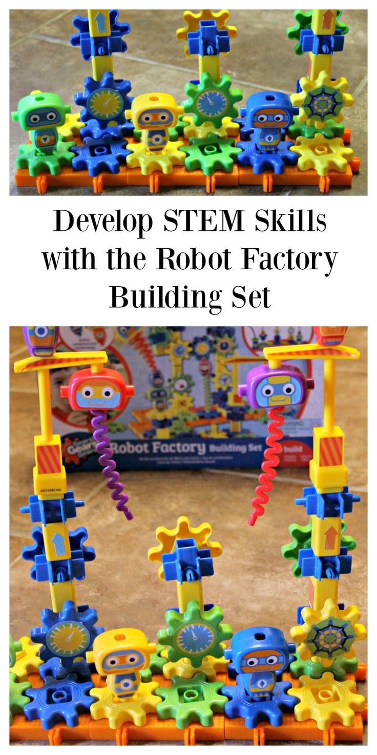 Encourage STEM Skills with the Robot Factory Building Set #HeartThis #STEM #toys #giftguide