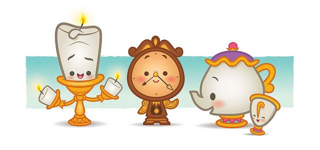 Kawaii Beauty and The Beast By Jerrod Maruyama