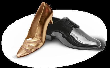 Мужская и женская обувь для спортивных бальных танцев латина