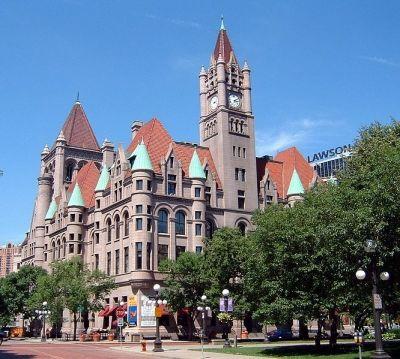 Landmark Center Castle,  St. Paul, MN