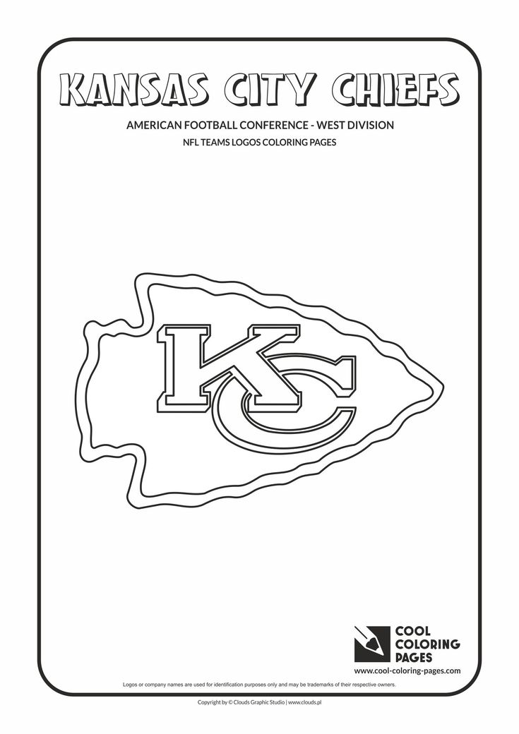 34 best nfl teams logos coloring pages images on pinterest | cool ... - Football Coloring Pages Nfl Logos