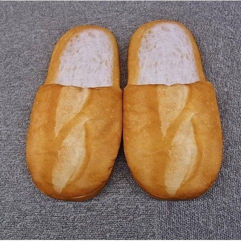 【スリッパン】まるでパンみたいなスリッパ(フランスパン)【11月下旬発送予定】