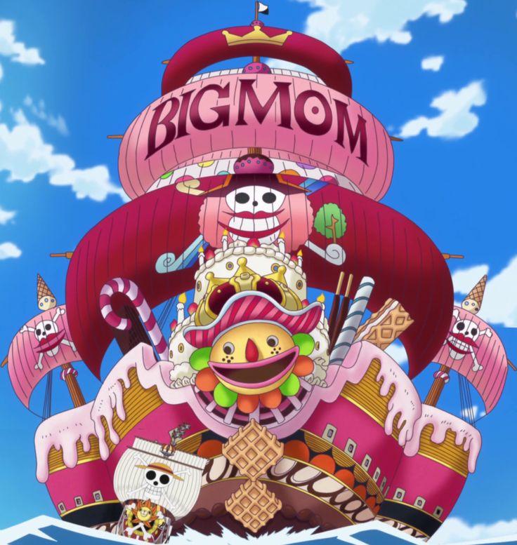 One Piece, Big Mom Pirates Ship