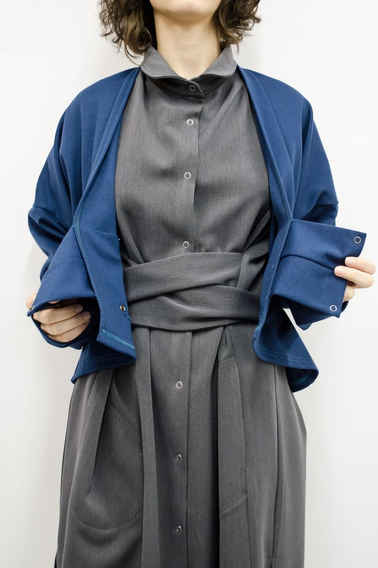 Cardigan Kimiko in Viscose Jersey Colors