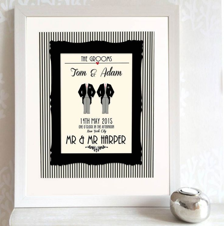 Couples Wall Print From Not On The High Street Wedding Present IdeasEngagement GiftsOn