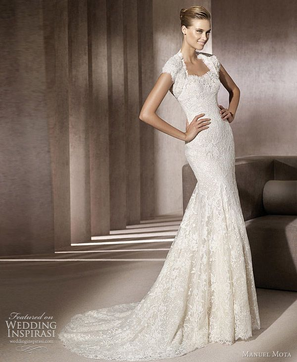 I love this too - beautiful sexy yet elegant - great for a wedding dinner type of wedding...and for a 2nd wedding gown ! Preferably in cream ...