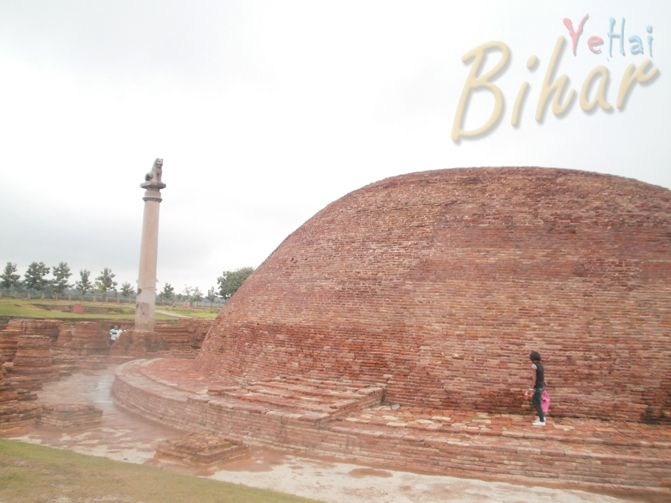Vaishali is an accent city of Bihar.It was the capital city of the Licchavi. It was the first republic state. In 599 BCE, 24th Bhagwan Mahavira was born