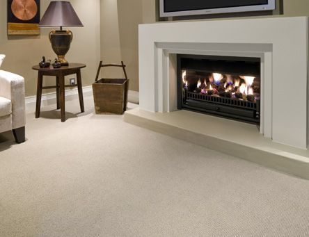 Troika carpet by Cavalier Bremworth. A chunky alternative to the classic level loop pile, Troika is suited to busy households where a simple, but stylish carpet is required.
