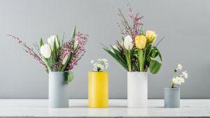 Do it yourself - Anleitung zum Basteln von Blumenvasen aus leeren Teedosen von Tree of Tea