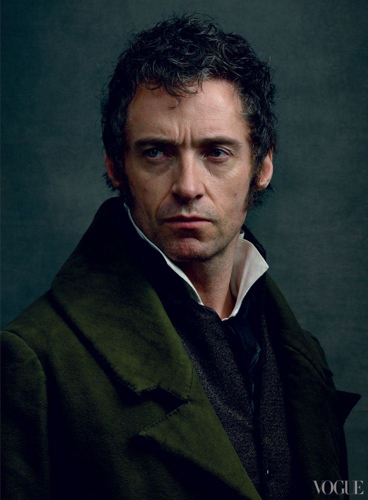 """He's one of the great literary characters of all time,"" says Hugh Jackman of Jean Valjean, ""a real study of the human spirit under the worst adversity possible.""  les miserables"