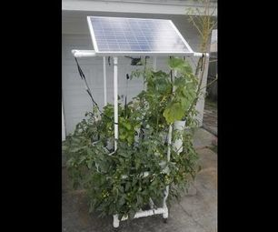 Build this Solar Powered Hydroponic Water Garden on Wheels - MUST READ!