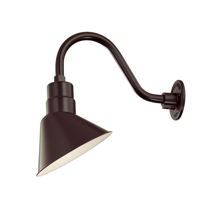View The Millennium Lighting RAS10 RGN15 R Series 1 Light Outdoor Wall Sconce With 10