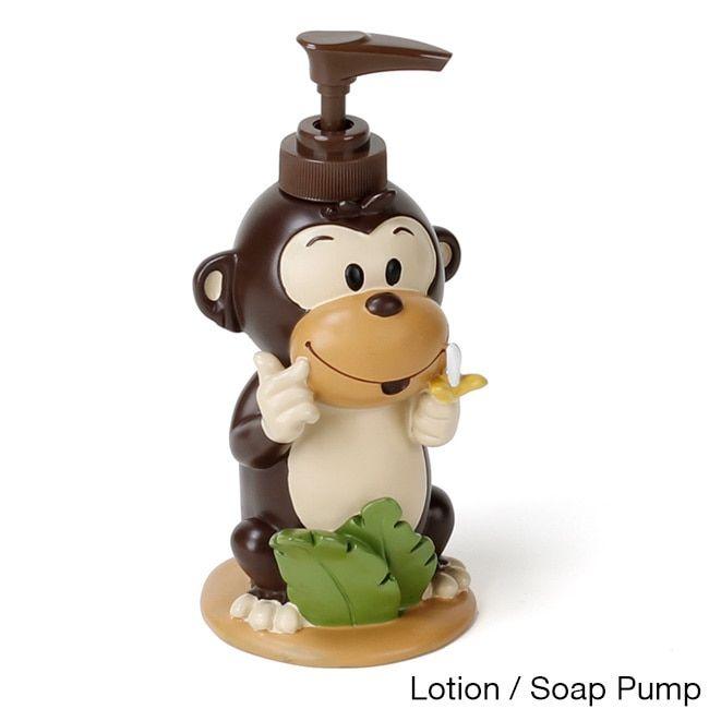 Playful Monkeys Bathroom Accessory Collection