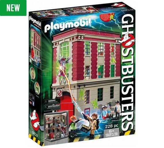 Fabulous Buy Playmobil Ghostbusters Firehouse Playset at Argos co uk visit Argos