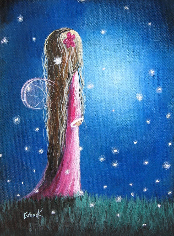 Night Of 50 Wishes Fairy Print by Shawna Erback