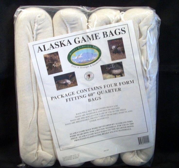 Alaska Game Bags Rolled 4 Quarter 60 For Elk Moose Caribou Hunting Packing New