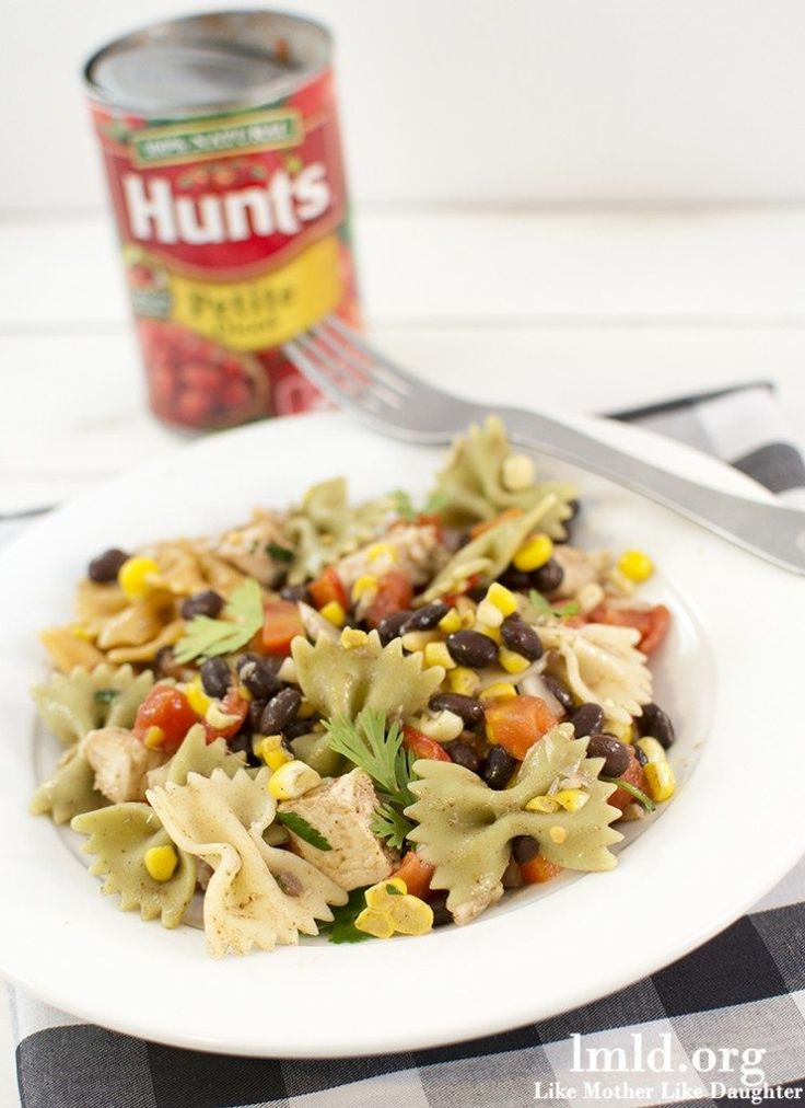 This southwestern pasta salad is the perfect twist on regular pasta salad making it even more delicious. And its perfect for a summer potluck or picnic #lmldfood