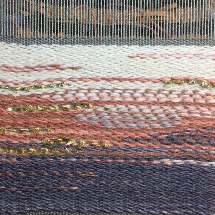 Brittany McLaughlin, The Weaving Workshop, Student Work, Liberty Sticky, Gradiant