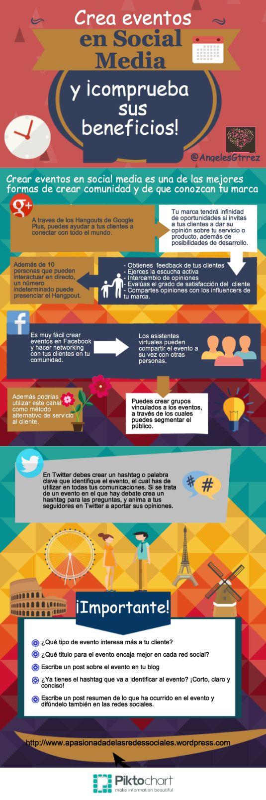 Crea eventos en social media y comprueba sus beneficios