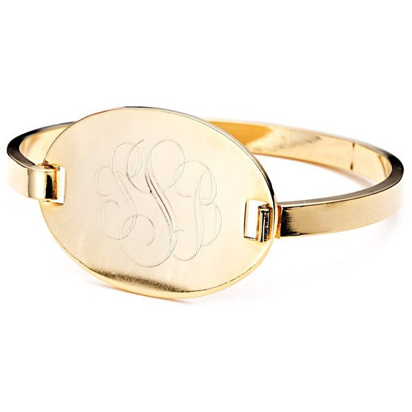 Danielle Stevens Jewelry Hinge Bracelet ($76) ❤ liked on Polyvore