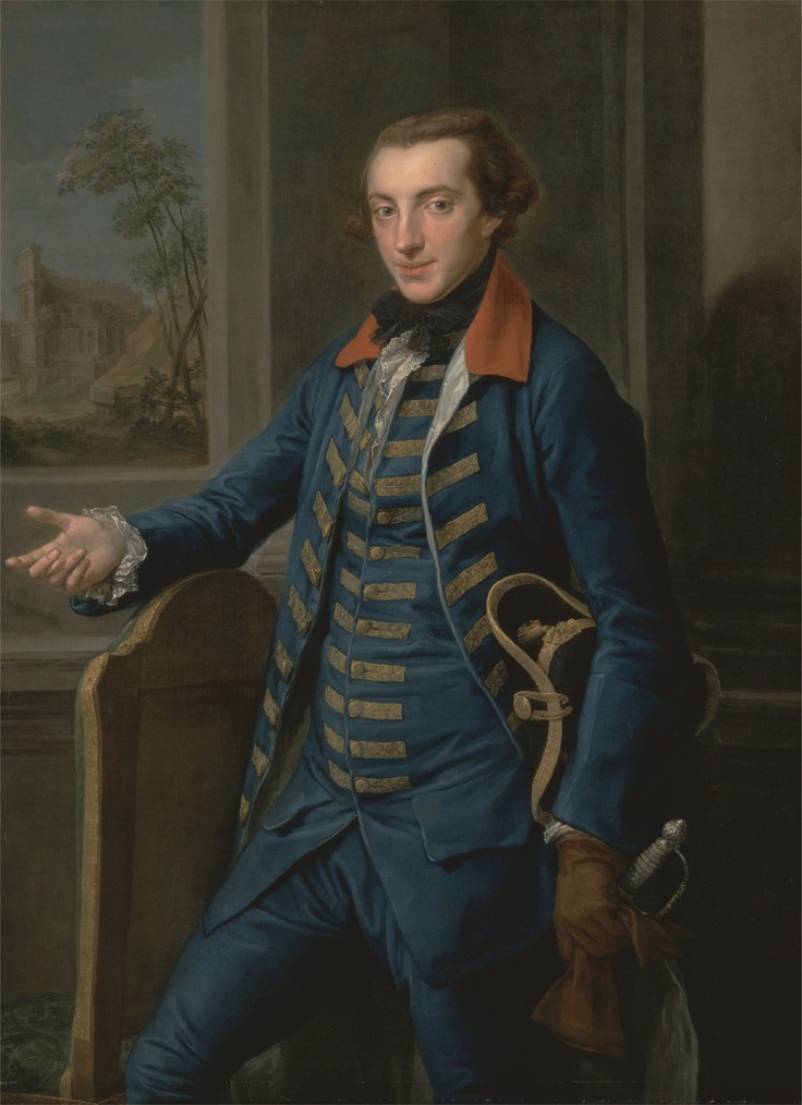William Weddell, between 1765 and 1766, by Pompeo Batoni, 1708-1787, Italian, , Yale Center for British Art, Paul Mellon Collection