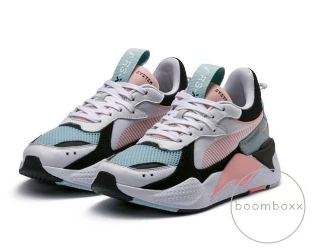Puma RS-X Reinvention Puma White Peach Bud | Zapatos tenis ...
