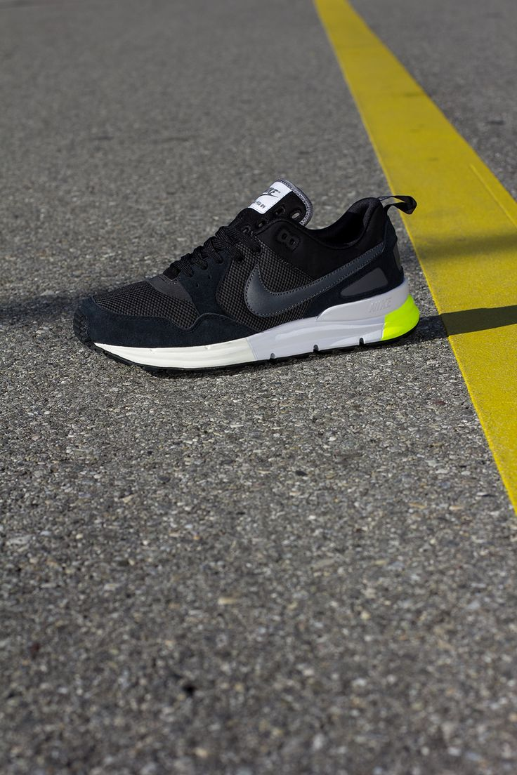 Nike Lunar Pegasus 89   Black, Anthracite & Volt