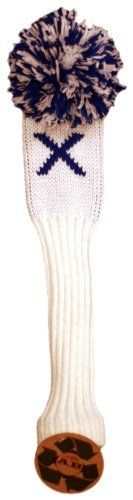 AB Golf Designs Throwback Collection Knitted Hybrid Head Cover (LE/Royal Blue) -  AB Golf Designs