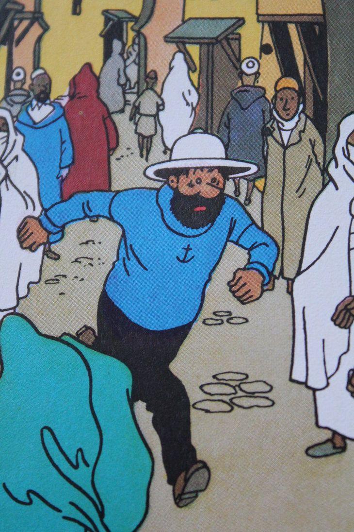 Tintin - Haddock