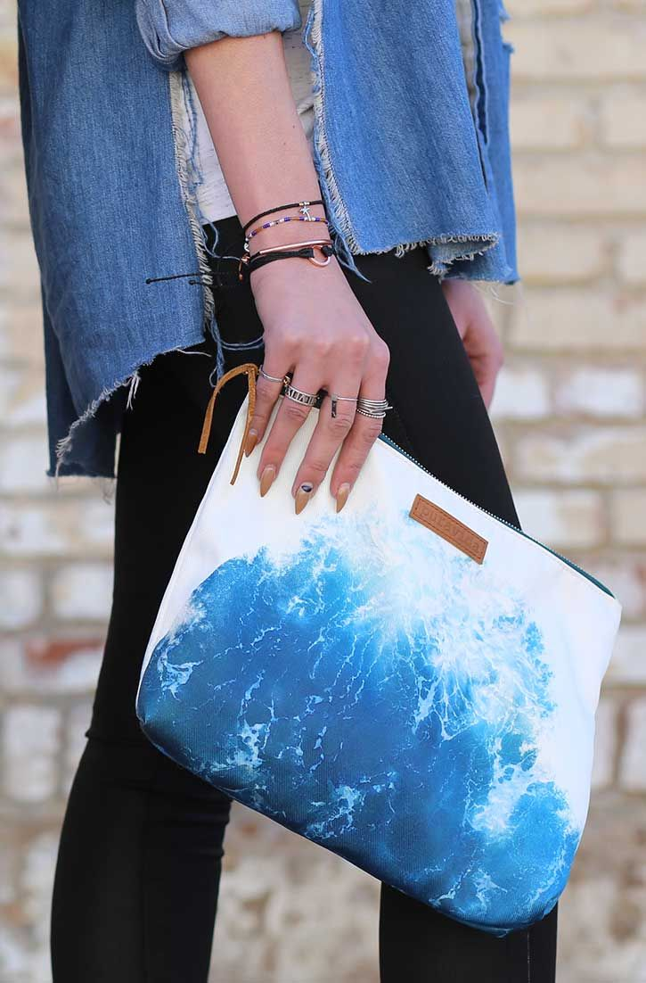 VIDA Statement Clutch - HALEAKALA SUNRISE CLUTCH by VIDA 9Fziztj