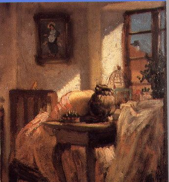 Josef Mánes's The Dressmaker,