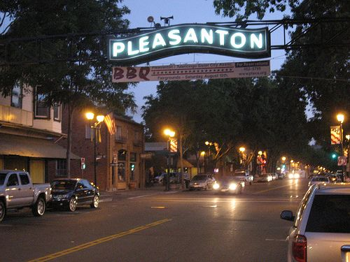 Pleasanton California, My future home and the cutest little town in America