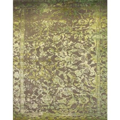 Beautiful green color TRANSITIONAL MOTIF DENSE WEAVE rug with luxurious look #indian #traditionalrug #rug #carpets #melbournerugs