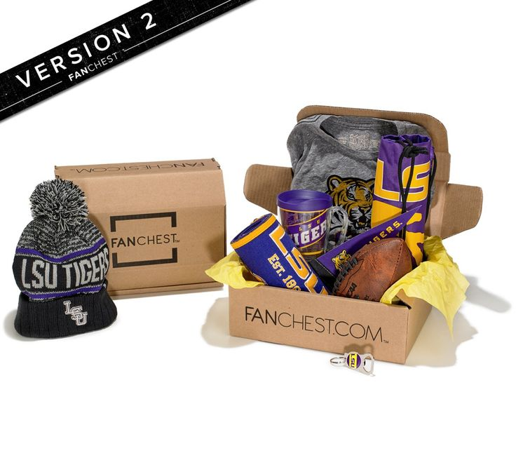 LSU Tigers Gift Box   LSU Gear + Apparel   Perfect Gift for LSU Fans